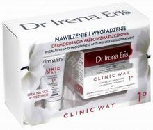 Dr Irena Eris promocyjny zestaw Clinic Way 1° krem przeciwzmarszczkowy 1° na dzień SPF 15 50 ml + dermokrem przeciwzmarszczkowy na noc 25 ml GRATIS !