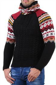 Sweter męski EKO BLACK 0005001-81