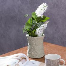 Dekoria Wazon Flowers pistacja wys.12cm 12cm 000-160