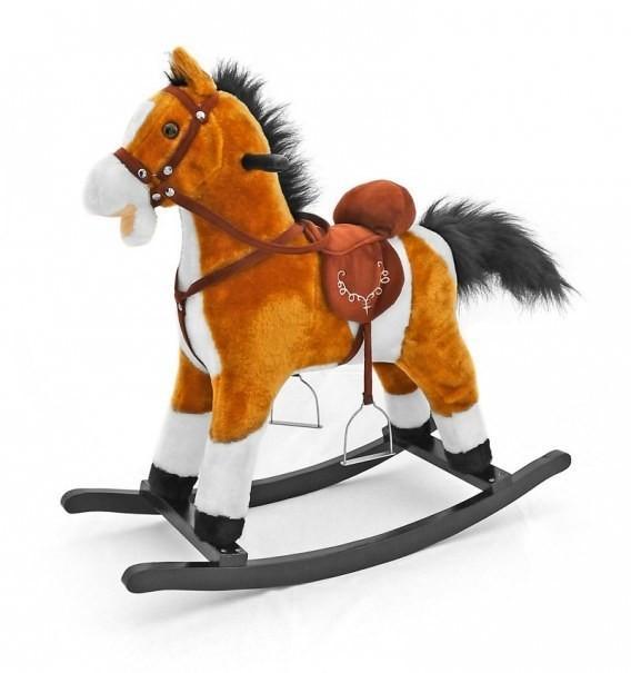 Milli Malli Milly Mally Koń na biegunach Mustang jasny brąz 0073