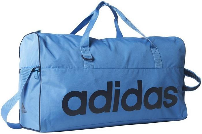 6cbb1fb9bf26a Adidas Torba sportowa, LINEAR PERFORMANCE, niebieski – ceny, dane  techniczne, opinie na SKAPIEC.pl