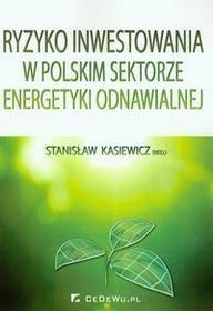 CeDeWu Ryzyko inwestowania w polskim sektorze energetyki odnawialnej - CeDeWu
