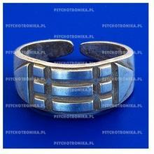 CISZAK Pierścień atlantów - srebrny