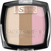 Astor Astor Face Beautifier Contouring Palette Paleta do konturowania 001 Light AST-8114