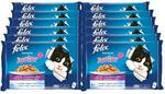 Purina Felix Fantastic Junior w galaretce kurczak i łosoś 100g x 48 (multipak x 12) KFEL010_PAK12