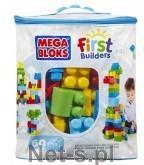 Mega Bloks Klocki 60 el torba niebieska