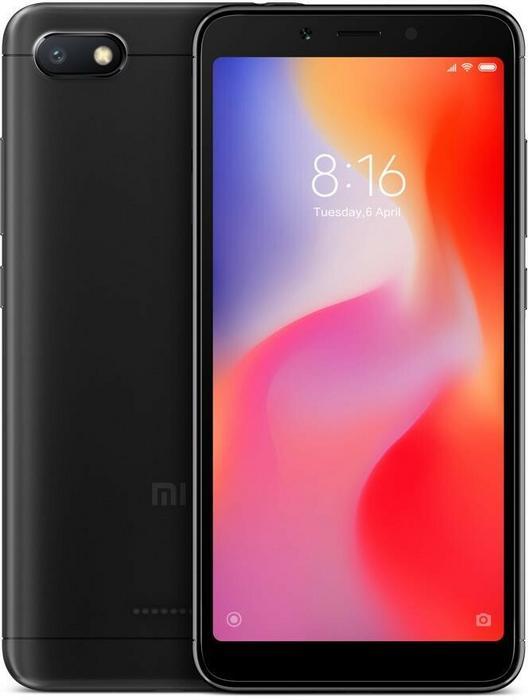 Xiaomi Redmi 6A 32GB Dual Sim Czarny