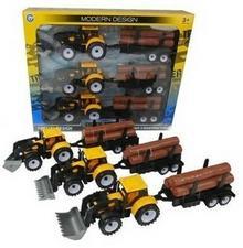 . Traktor z przyczepą 33cm