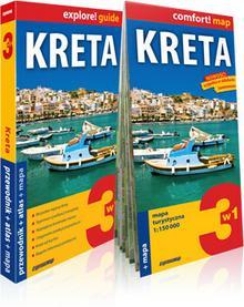 ExpressMap Piotr Jabłoński explore! guide Kreta 3w1. Przewodnik z atlasem i mapą