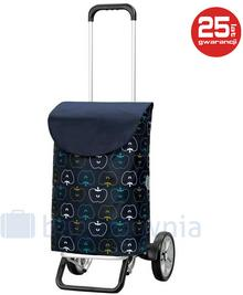 Andersen Wózek na zakupy Alu Star Hava 115-103-90 Niebieski - niebieski