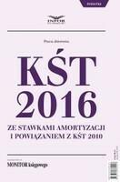 KŚT 2016 ze stawkami amortyzacji i powiązaniem z KŚT 2010 PRACA ZBIOROWA