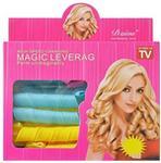 Opinie o IMPORT Wałki do włosów papiloty spirale MAGIC LEVERAG TV 19 elem