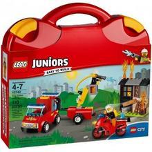 LEGO JUNIORS 10740 Patrol Strażacki - walizeczka 43549