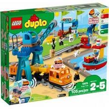 Klocki LEGO DUPLO Pociąg towarowy 10875