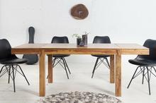 Invicta Rozkładany stół do salonu lub jadalni Laros, drewniany, brązowy