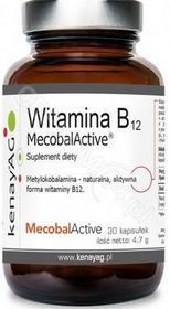 KENAY Witamina B12 metylokobalamina x 30 kaps Kenay