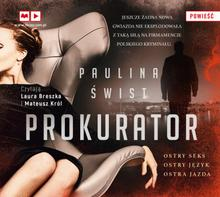 Prokurator audiobook CD) PAULINA ŚWIST