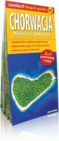 ExpressMap Ewelina Szeratics comfort! map&guide XL Chorwacja. Wybrzeże północne 2w1. Laminowany przewodnik i mapa 1: 300 000