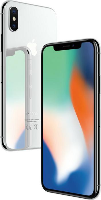 Apple iPhone X 256GB Srebrny