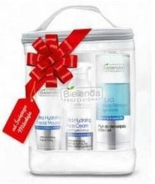 Bielenda Zestaw Aqua-Porine, Mus do twarzy 150g + płyn do demakijażu 200ml + krem 50 ml + kosmetyczka