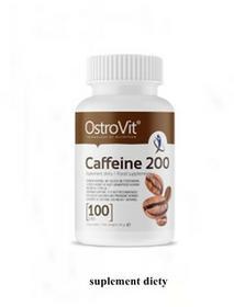 Ostrovit Caffeine 200 100 tab kofeina