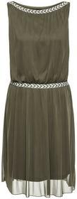 Bonprix Sukienka shirtowa ciemnooliwkowy
