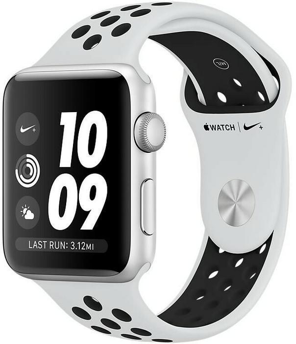 Apple Nike+ Biało-czarny/38 mm