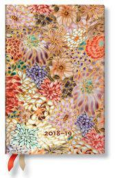 Paperblanks Kalendarz 18M 2019 Kikka Mini Horizontal