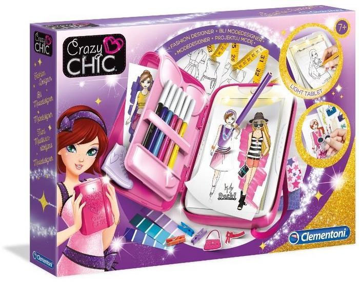 Clementoni Crazy Chic Fashion designer 78417