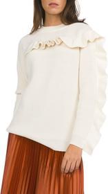 Pinko Sweter Biały L (183166)