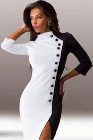 Sukienka NIRVANA WHITE 0007303-4