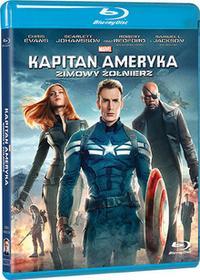 Kapitan Ameryka Zimowy żołnierz Blu-ray)