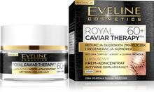 Eveline Royal Caviar Therapy 60+ 50 ml Krem-koncentrat aktywnie odmładzający na dzień DARMOWA DOSTAWA DO KIOSKU RUCHU OD 24,99ZŁ