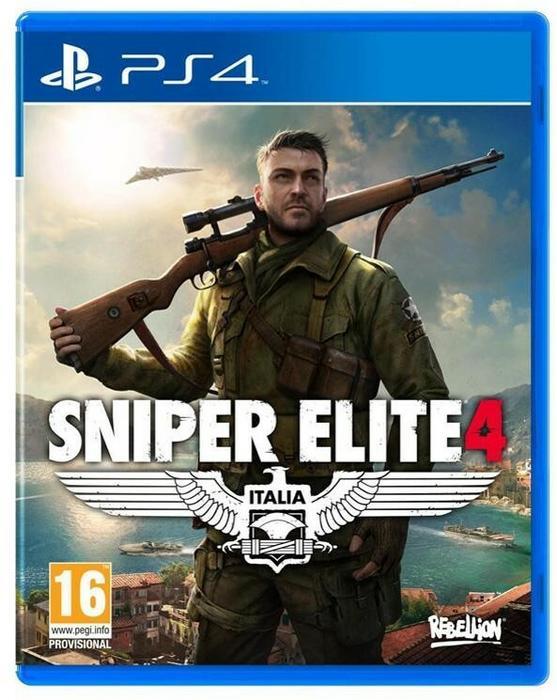 Sniper Elite IV PL PS4