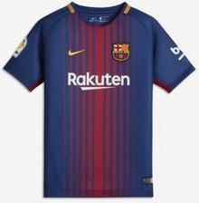 Nike Koszulka piłkarska dla dużych dzieci 2017/18 FC Barcelona Home - Niebieski 847387-456