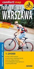 ExpressMap praca zbiorowa Rowerowa Warszawa. Mapa laminowana 1:29 000