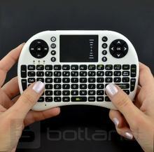 Klawiatura bezprzewodowa + touchpad Mini Key - biała KAP-02381