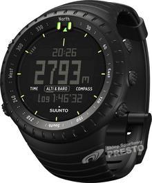 Suunto zegarek sportowy, czarny, w rozmiarze uniwersalnym