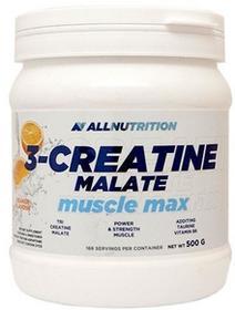 SFD  Allnutrition 3-Creatine Malate Muscle Max, smak pomarańczowy, 500g
