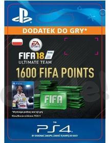 FIFA 18 1600 Punktów PS4 wersja cyfrowa