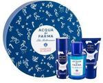 Acqua di Parma Blu Mediterraneo Chinotto di Liguria zestaw Edt 75 ml + Żel pod prysznic + Mleczko do ciała 50 ml unisex