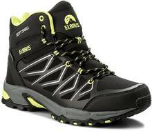 Elbrus Trekkingi Gabby Mid Wp Black/Lime