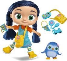 Simba Lalka Wissper i figurka pingwinek Peggy 9358317