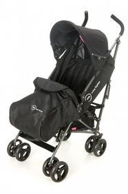 Kidz Motion Almond wózek spacerowy +parasolka (black)
