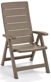 Krzesło ogrodowe BRASILIA cappuccino