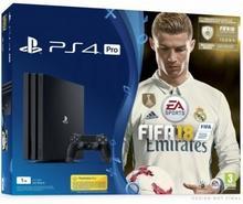 Sony PlayStation 4 slim 1TB Czarny + FIFA 18 + Dualshock 4