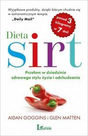 Laurum Dieta Sirt. Przełom w dziedzinie zdrowego stylu życia i odchudzania - AIDAN GOGGINS