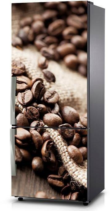 Oklejaj Naklejka na lodówkę - Ziarna kawowca 0346 - Naklejka