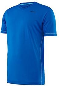 HEAD Głowa dla mężczyzn Chase dekoltem w szpic T-Shirt, niebieski, m 811276med blue