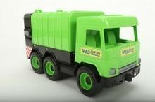Wader WOŹNIAK Middle Truck śmieciarka zielona w kartonie